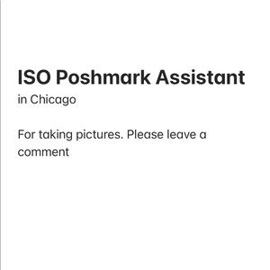Looking for Poshmark Assistant in Chicago
